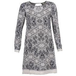 textil Dame Korte kjoler Cream BARBRA Marineblå / Hvid