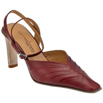 Sko Dame Højhælede sko Latitude  Rød