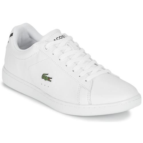 Sko Dame Lave sneakers Lacoste CARNABY EVO BL 1 Hvid