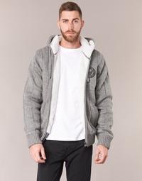 textil Herre Veste / Cardigans Schott DUNLIN Grå