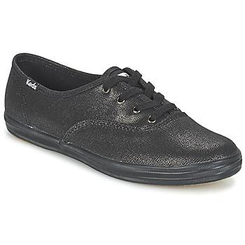 Sko Dame Lave sneakers Keds CH METALLIC CANVAS Sort
