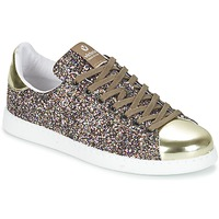 Sko Dame Lave sneakers Victoria DEPORTIVO BASKET GLITTER Flerfarvet