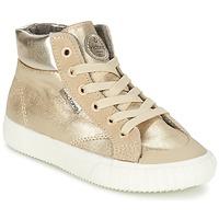 Sko Pige Høje sneakers Victoria BOTA METALIZADA PU Guld