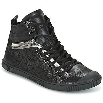 Sko Dame Høje sneakers Pataugas BANJOU Sort