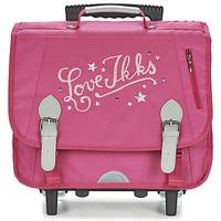 Tasker Pige Rygsække / skoletasker med hjul Ikks LOVE IKKS TROLLEY CARTABLE 38CM Pink