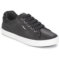 Sko Pige Lave sneakers Geox KIWI GIRL Sort