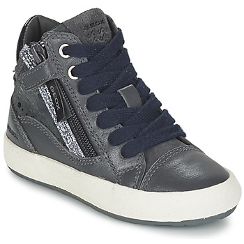 Sko Pige Høje sneakers Geox WITTY Grå