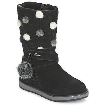 Sko Pige Chikke støvler Geox NOHA Sort