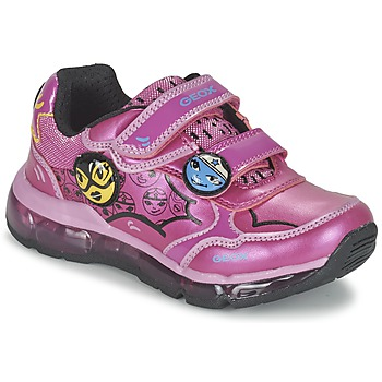 Sko Pige Lave sneakers Geox ANDROID GIRL Pink