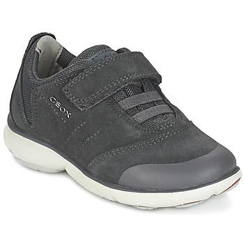 Sko Dreng Lave sneakers Geox NEBULA BOY Grå