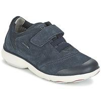 Sko Dreng Lave sneakers Geox NEBULA BOY Blå