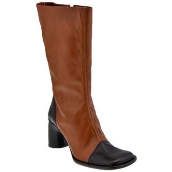 Sko Dame Chikke støvler Bocci 1926  Brun