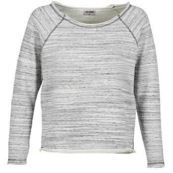 textil Dame Sweatshirts Yurban FLIMANE Grå / Blå