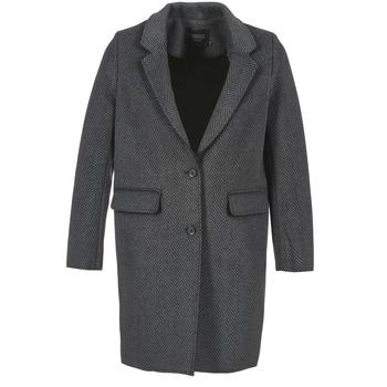 textil Dame Frakker Eleven Paris TABLEAUBIS Grå / Sort