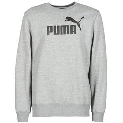 textil Herre Sweatshirts Puma ESS CREW SWEAT FL Grå