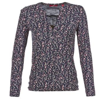 textil Dame Langærmede T-shirts S.Oliver INIATE Marineblå