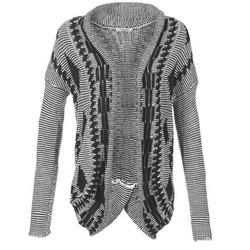 textil Dame Veste / Cardigans Teddy Smith GRANBY Beige / Sort