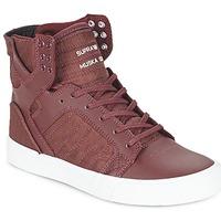 Sko Høje sneakers Supra SKYTOP BORDEAUX