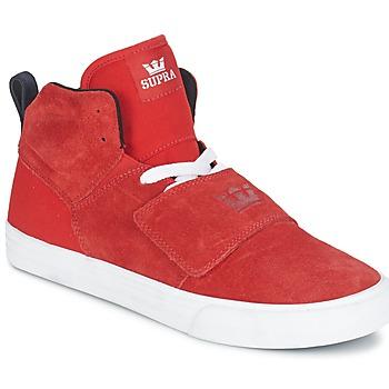 Sko Herre Høje sneakers Supra ROCK Rød