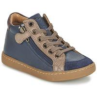 Sko Børn Høje sneakers Shoo Pom PLAY HIBI ZIP Marineblå / Muldvarpegrå