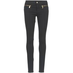 textil Dame Lærredsbukser Versace Jeans TOLKALA Sort