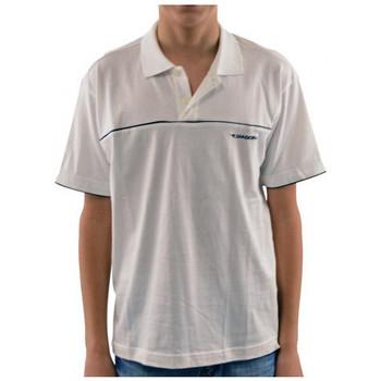 textil Børn Polo-t-shirts m. korte ærmer Diadora  Hvid