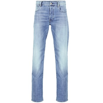 textil Herre Lige jeans G-Star Raw 3301 STRAIGHT Denim