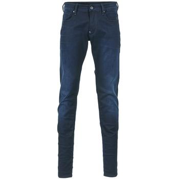 textil Herre Jeans - skinny G-Star Raw REVEND SUPER SLIM Indigo
