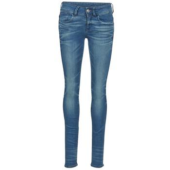 textil Dame Jeans - skinny G-Star Raw LYNN MID SKINNY Blå
