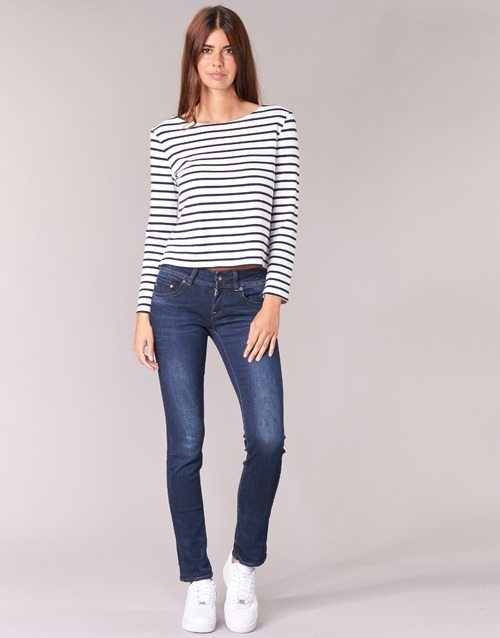 textil Dame Lige jeans G-Star Raw MIDGE SADDLE MID STRAIGHT Denim