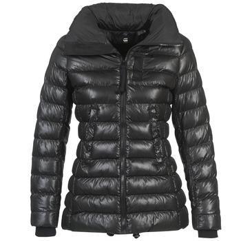textil Dame Dynejakker G-Star Raw WHISTLER SLIM COAT Sort