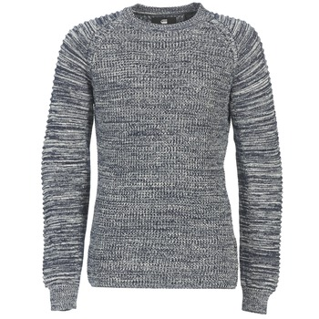 textil Herre Pullovere G-Star Raw SUZAKI R KNIT Marineblå / Marmoreret