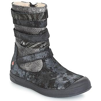 Sko Pige Chikke støvler GBB NOURIA Sort / Metal