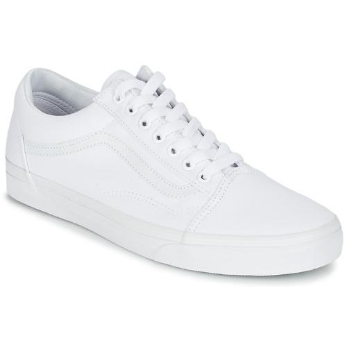 d977fc8bdc98 Sko Lave sneakers Vans OLD SKOOL Hvid
