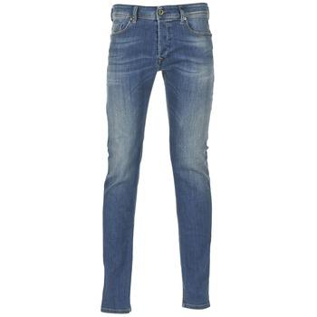 textil Herre Jeans - skinny Diesel SLEENKER Blå