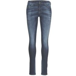 textil Dame Smalle jeans Diesel SKINZEE Blå / 0856G