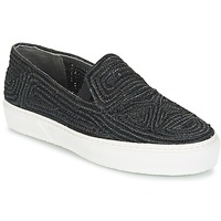 Sko Dame Slip-on Robert Clergerie TRIBAL Sort
