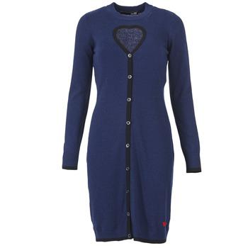 textil Dame Korte kjoler Love Moschino PESCARI Marineblå