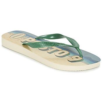 Sko Herre Flip flops Havaianas POSTO CODE Grøn / Blå