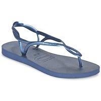 Sko Dame Sandaler Havaianas LUNA Blå / Marineblå