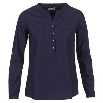 textil Dame Skjorter / Skjortebluser Casual Attitude FARANDOLE Marineblå