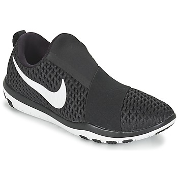 Sko Dame Fitness / Trainer Nike FREE CONNECT W Sort / Hvid