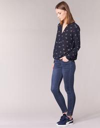 textil Dame Smalle jeans Yurban IFABANE Blå
