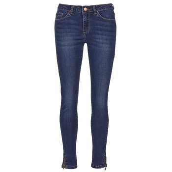 textil Dame Smalle jeans Yurban FOLDINE Blå