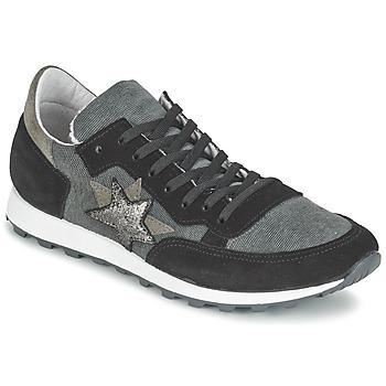 Sko Dame Lave sneakers Yurban FILLIO Grå / Sort