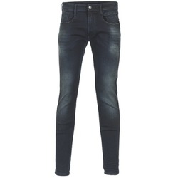textil Herre Smalle jeans Replay ANBASS Blå