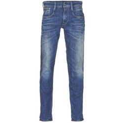 textil Herre Smalle jeans Replay ANBASS Blå / MEDIUM