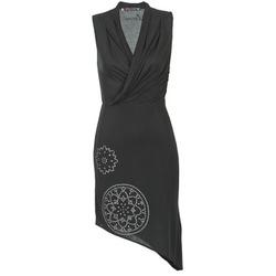 textil Dame Korte kjoler Desigual RAZIANA Sort