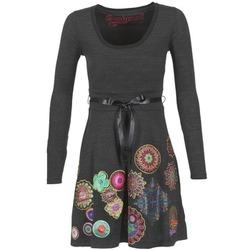 textil Dame Korte kjoler Desigual RIDOUBA Grå