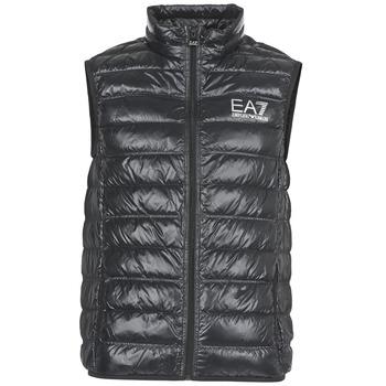 textil Herre Dynejakker Emporio Armani EA7 ONAFRATO Sort